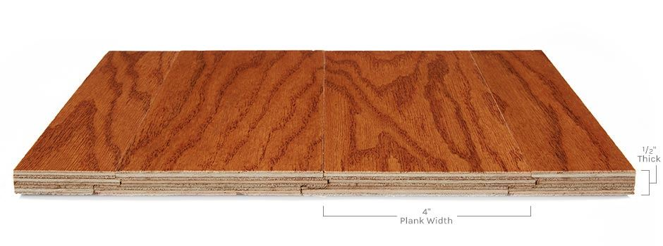 Encore Hardwoodside View Showing Texture And Thickness