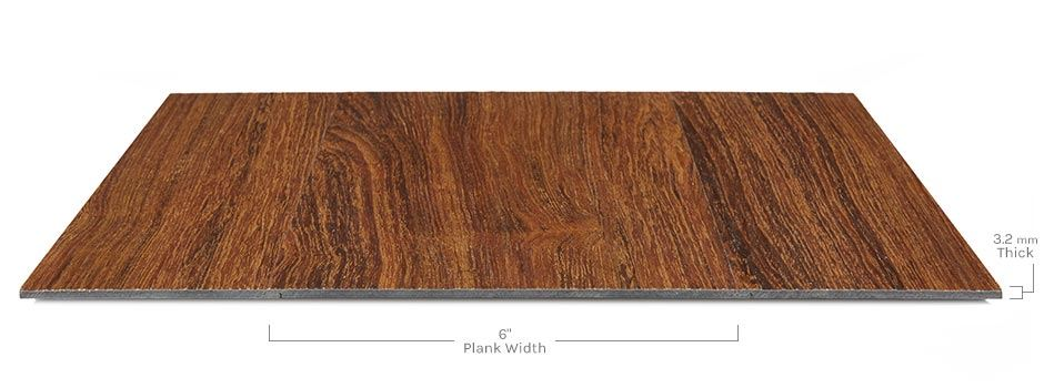 Galena Vinylside View Showing Texture And Thickness