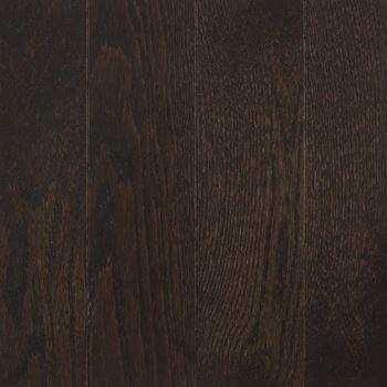 Manchester Solid Hardwood Flooring Blackened Brown Color