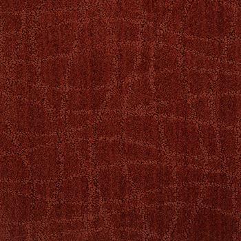 Symphony Pattern Carpet Chili Pepper Color