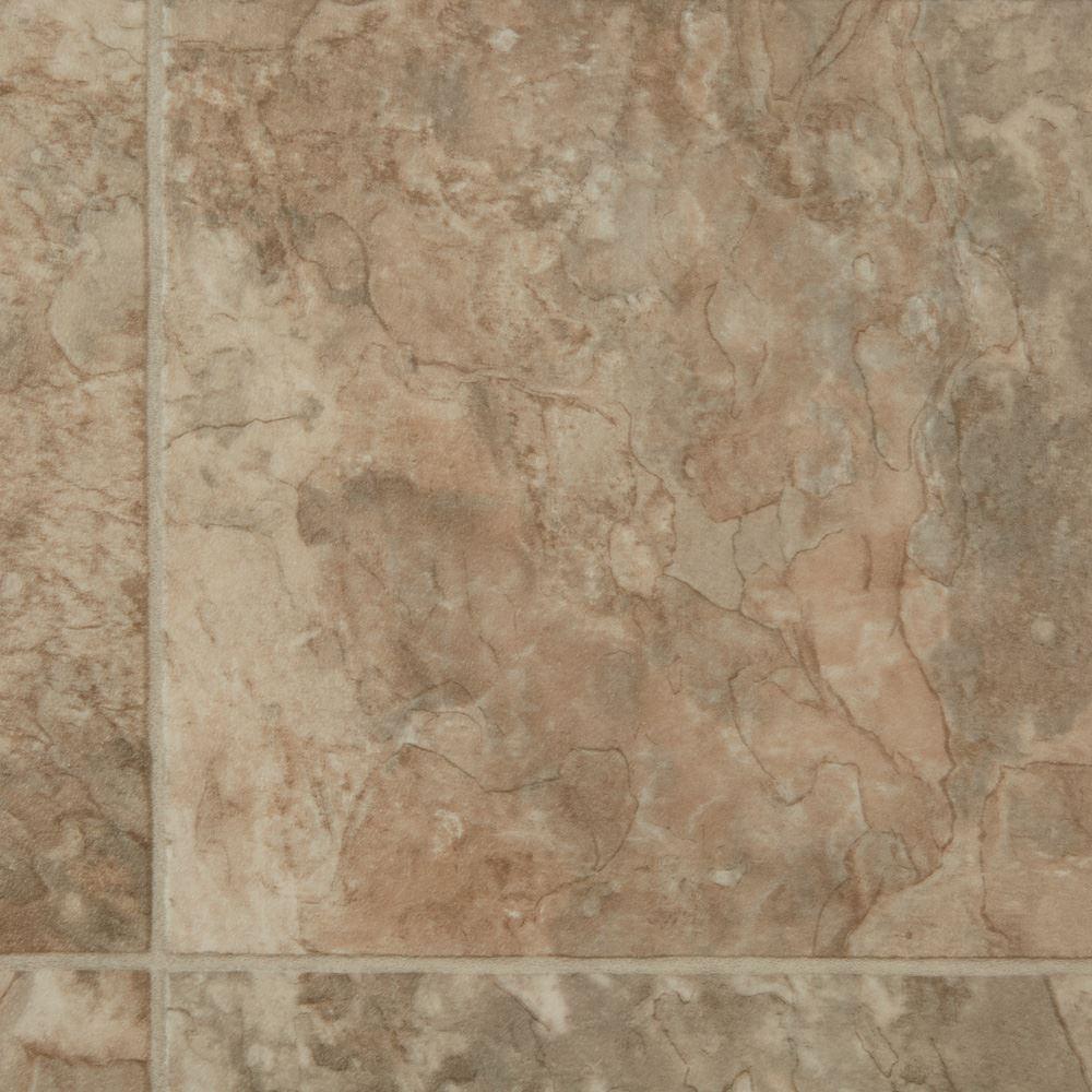 Cobblestone Sheet Vinyl Flooring Villa Passage Color