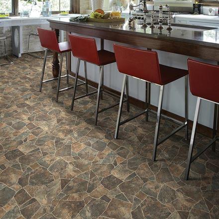 Cobblestone Sheet Vinyl Flooring