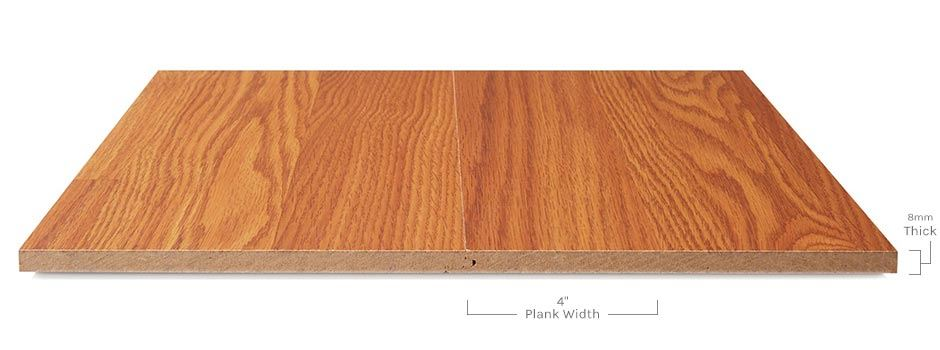 Forestview Laminateside View Showing Texture And Thickness