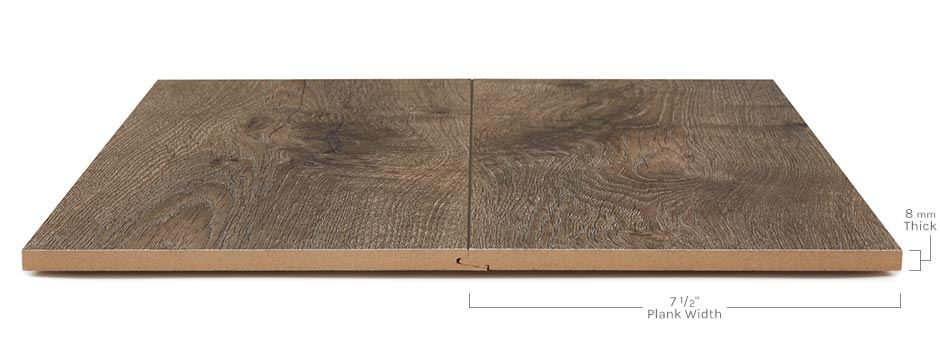 Albany Park Laminateside View Showing Texture And Thickness