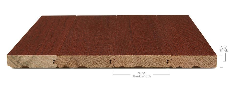 Manchester Hardwoodside View Showing Texture And Thickness