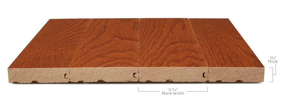Newport Hardwoodside View Showing Texture And Thickness
