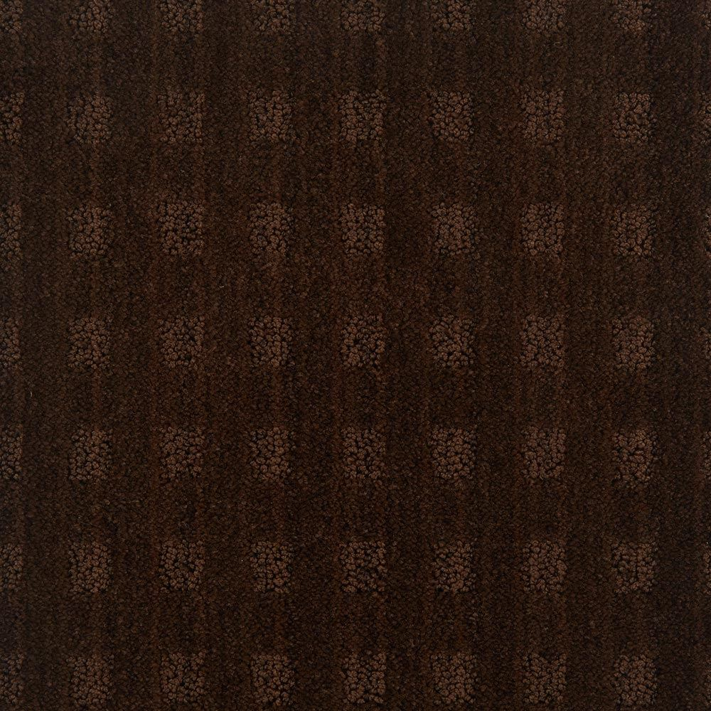 Marquis Pattern Carpet Cafe Noir Color