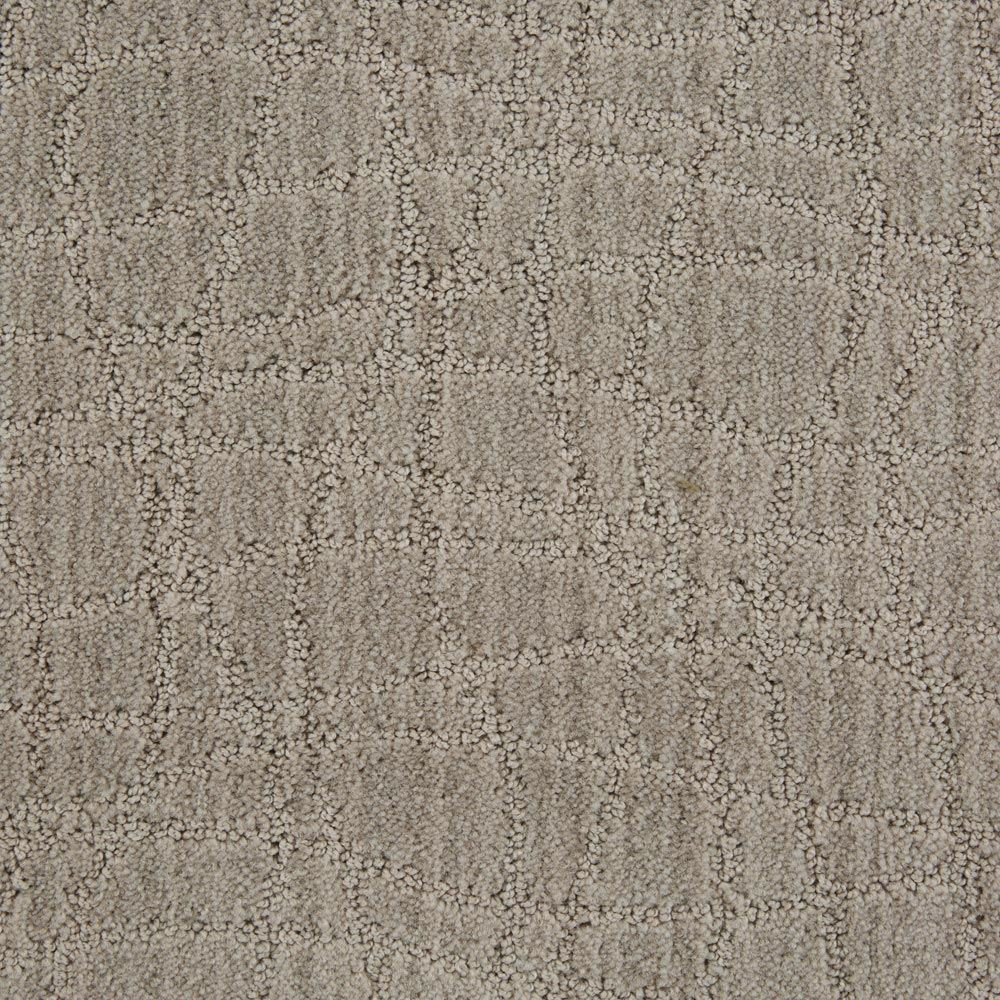 Symphony Pattern Carpet Ash Gray Color