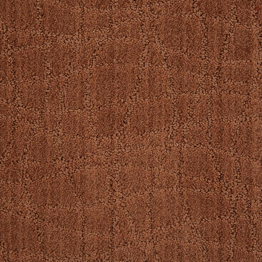 Symphony Pattern Carpet Brushed Clay Color
