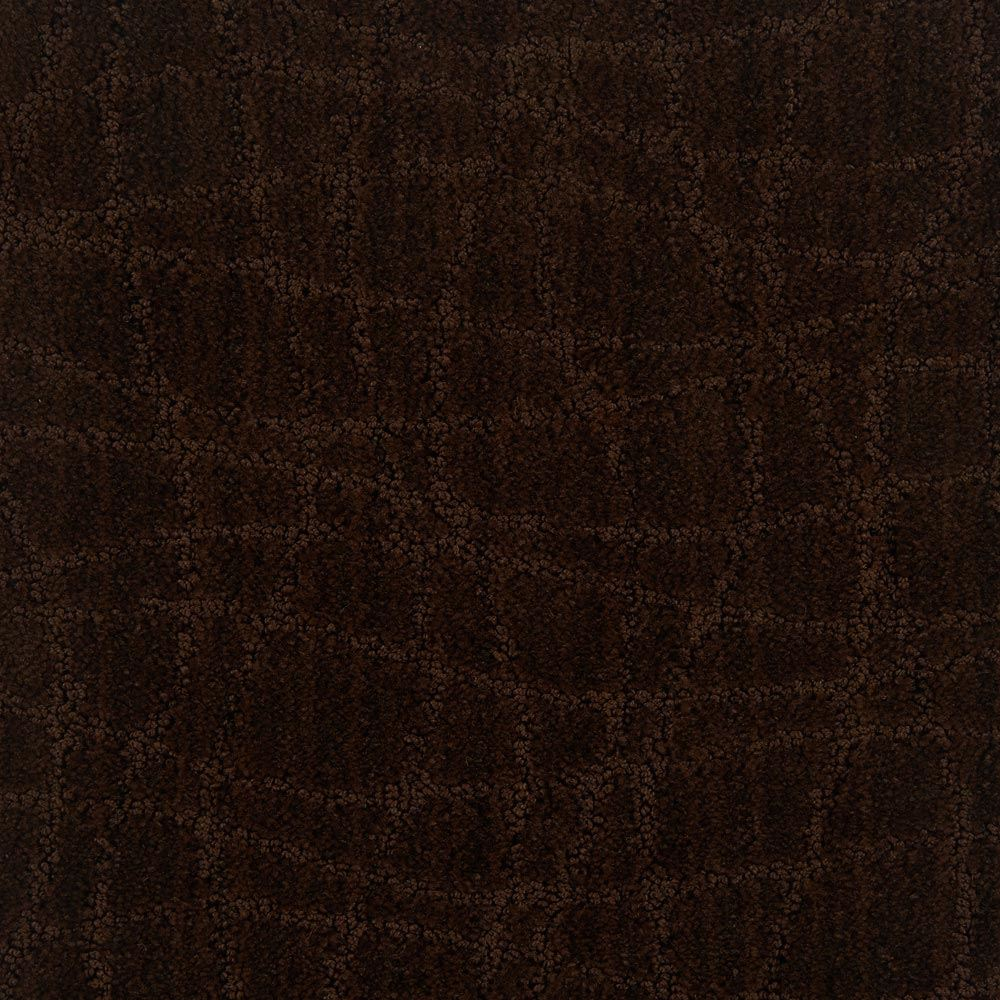 Symphony Pattern Carpet Cafe Noir Color