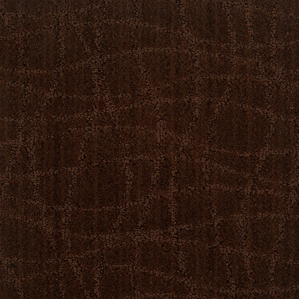 Symphony Pattern Carpet Catskill Brown Color