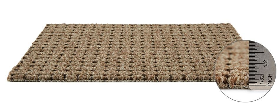 Dot Com Carpetside View Showing Texture And Thickness