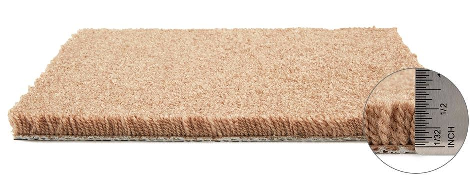 Vernon Carpetside View Showing Texture And Thickness