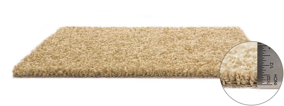 Gilmer Carpetside View Showing Texture And Thickness