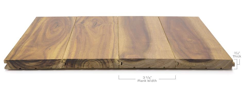 Chateau Hardwoodside View Showing Texture And Thickness
