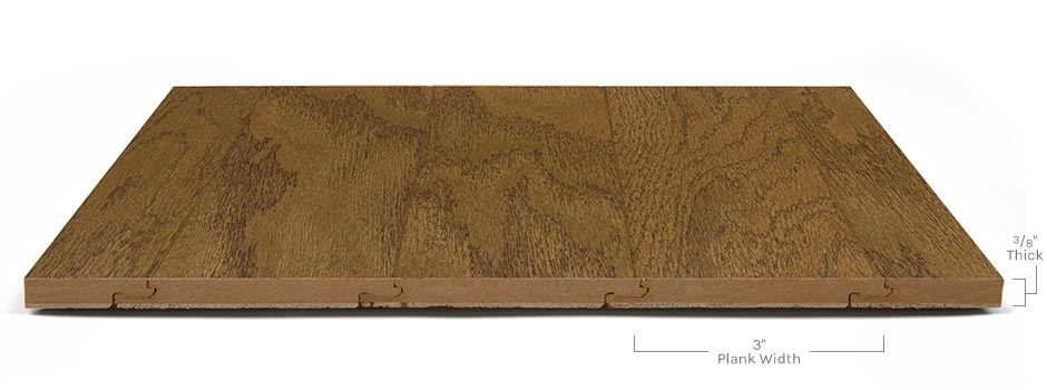 Accolade Hardwoodside View Showing Texture And Thickness