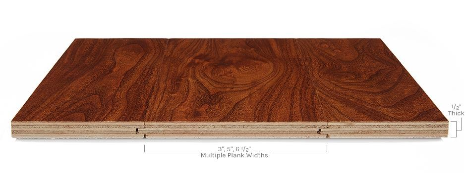 Forest Lodge Hardwoodside View Showing Texture And Thickness