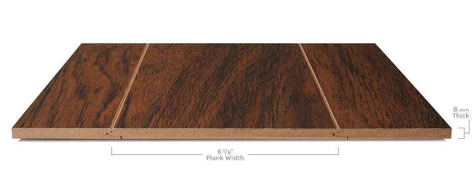 Parkview Laminateside View Showing Texture And Thickness