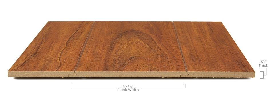 Ellington Laminateside View Showing Texture And Thickness
