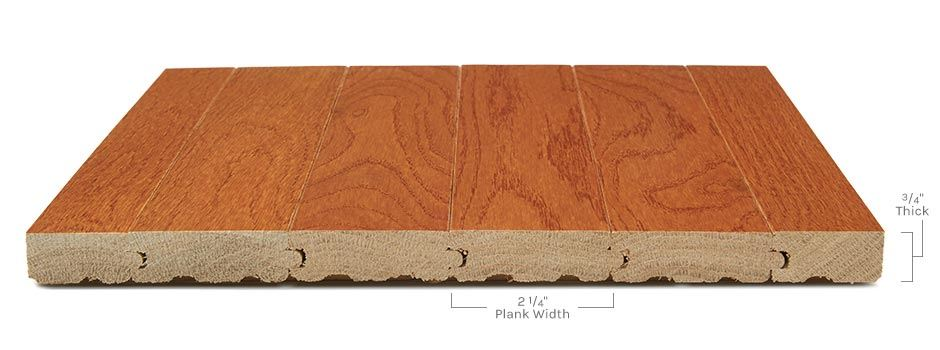 Providence Hardwoodside View Showing Texture And Thickness