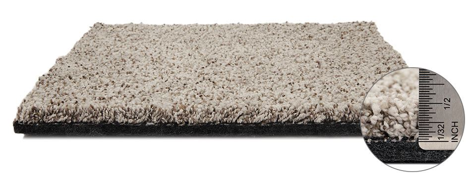 Incomparable Carpetside View Showing Texture And Thickness