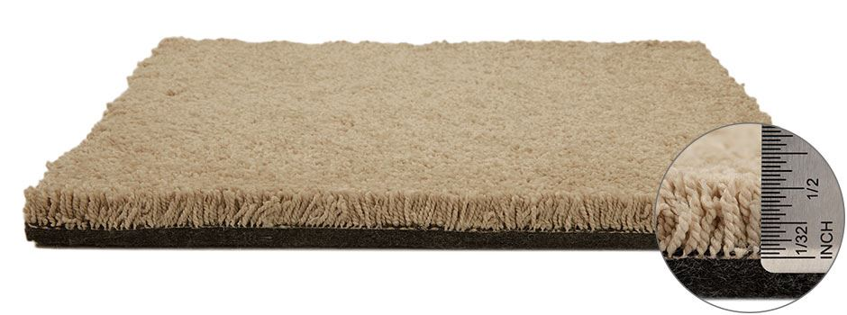 One And Only Carpetside View Showing Texture And Thickness