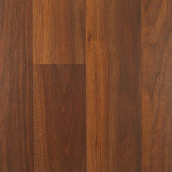 South Gate Wood Laminate Flooring Amber Walnut Color