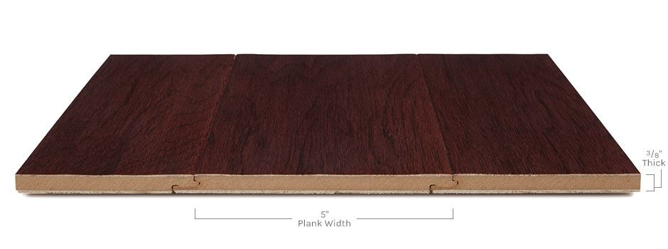 Cambridge Hardwoodside View Showing Texture And Thickness