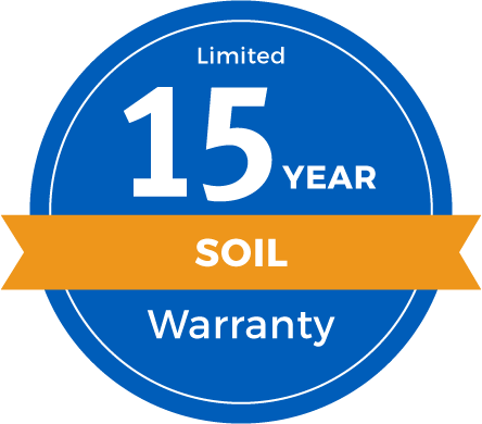 15 Year Limited Soil Warranty Badge