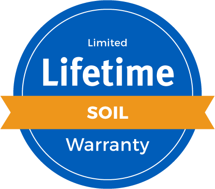Lifetime Limited Soil Warranty Badge