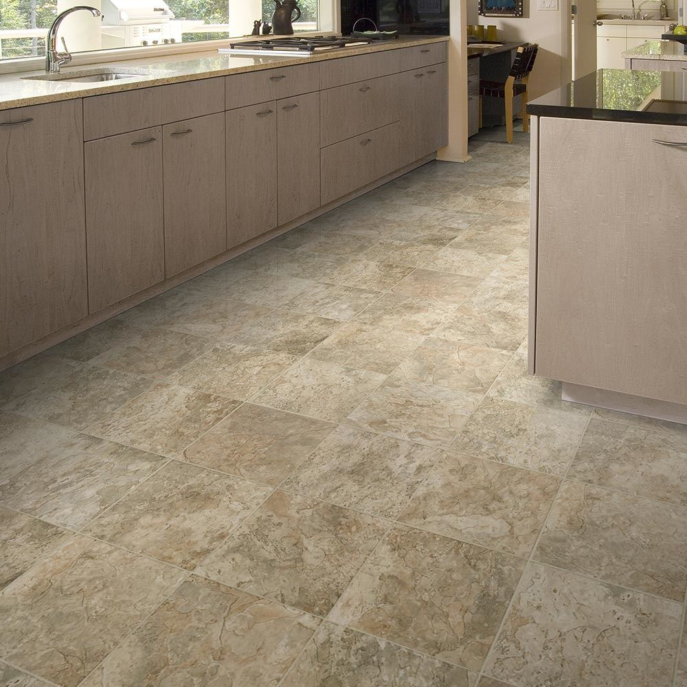Cobblestone vinyl flooring gurus floor for Vinyl linoleum flooring