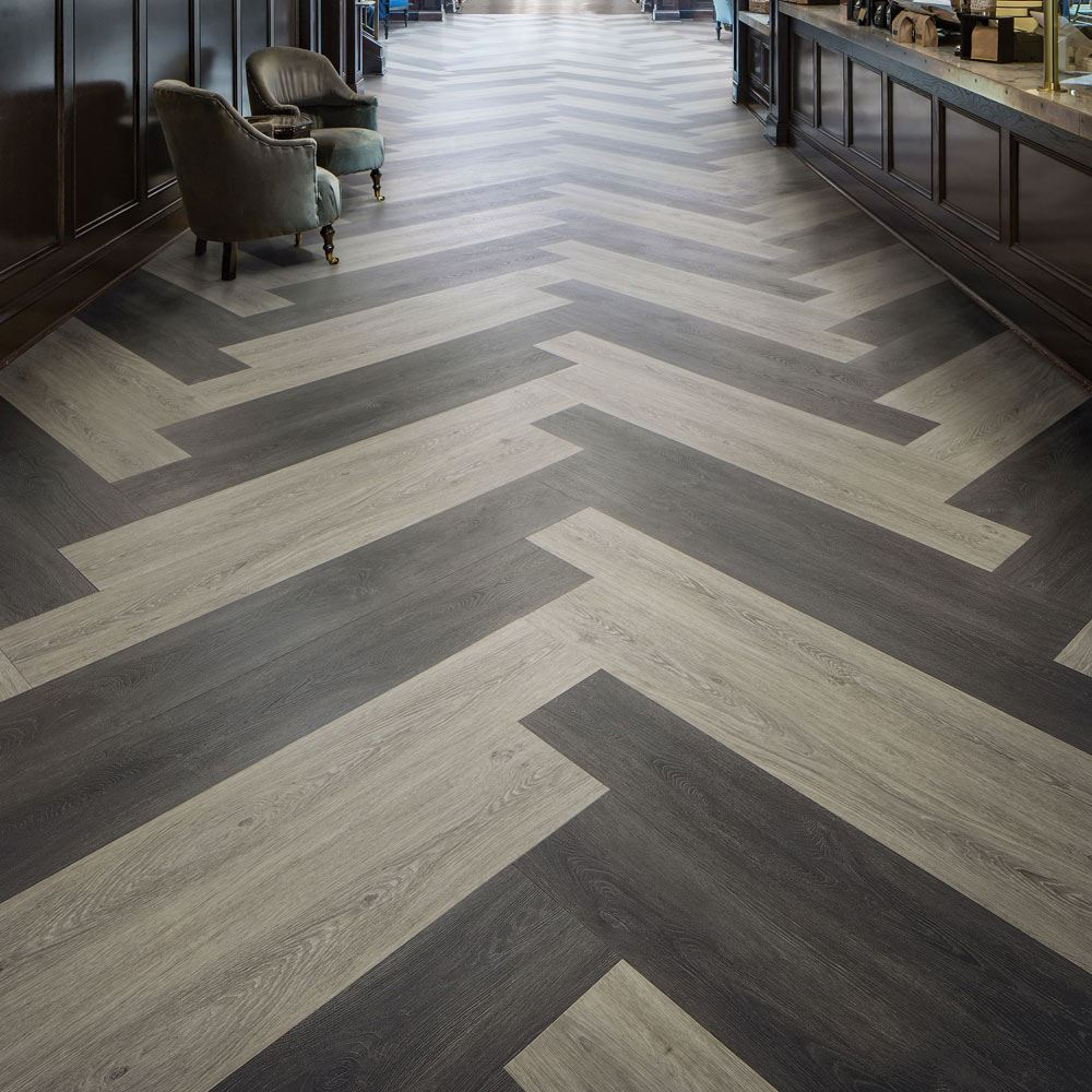 Hot And Heavy Grown Up Commercial Vinyl Plank Flooring