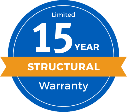 15 Year Limited Structural Warranty Badge