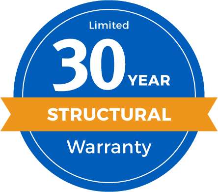 30 Year Limited Structural Warranty Badge