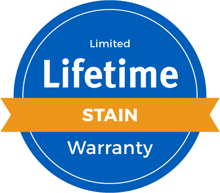 Lifetime Limited Stain Warranty Badge