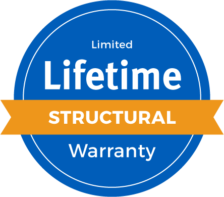 Lifetime Limited Structural Warranty Badge