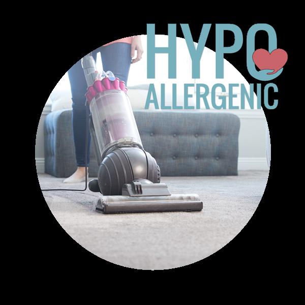 100% Hypoallergenic Carpet