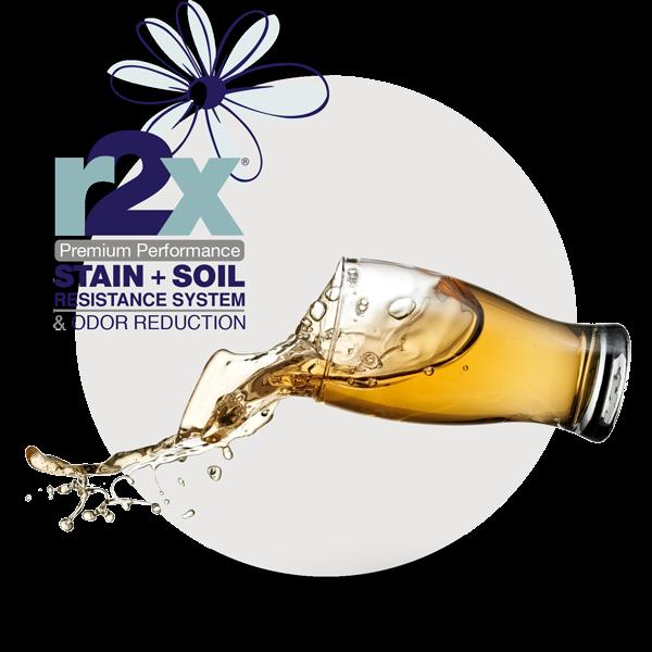 R2X® Stain & Soil Repellant + Odor Reduction