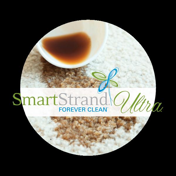 Smartstrand® Forever Cleantm Ultra Carpet Fiber