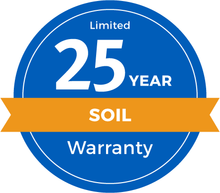 25 Year Limited Soil Warranty Badge