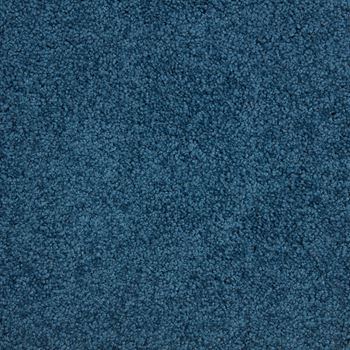 Fundamental Plush Carpet Blue Metal Color