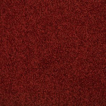 Fundamental Plush Carpet Brick Red Color