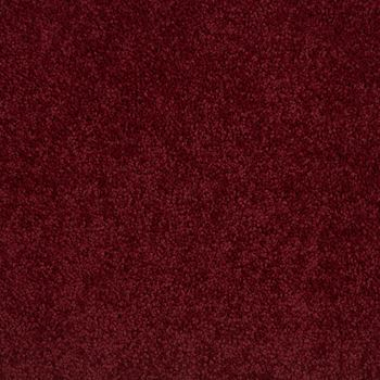 Lustrous Plush Carpet Fine Wine Color