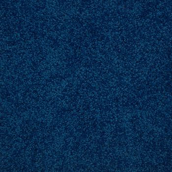 Lustrous Plush Carpet Cosmic Cobalt Color